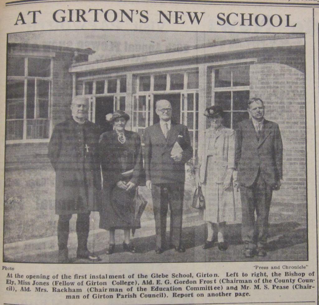 Girton's New School CIP 13 July 1951