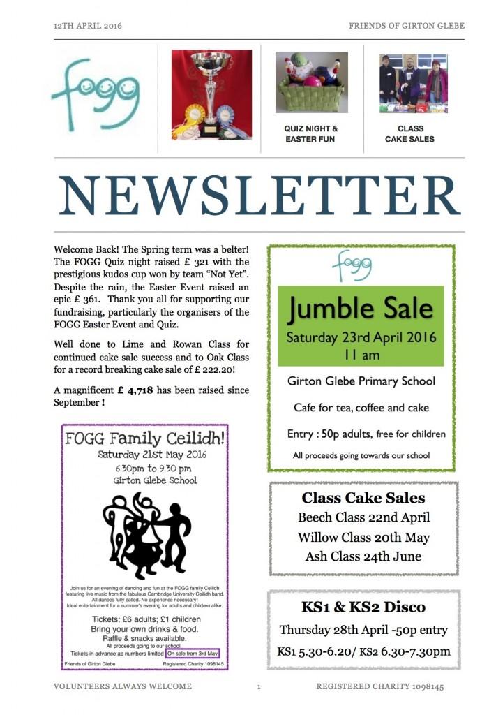 fogg april 16 newsletter