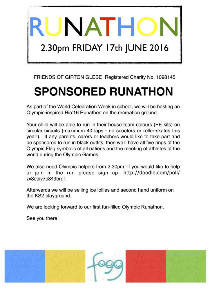 runathon 2016 poster
