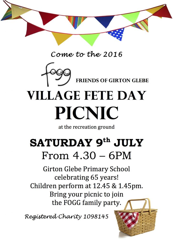 village fete day picnic GPN 2016